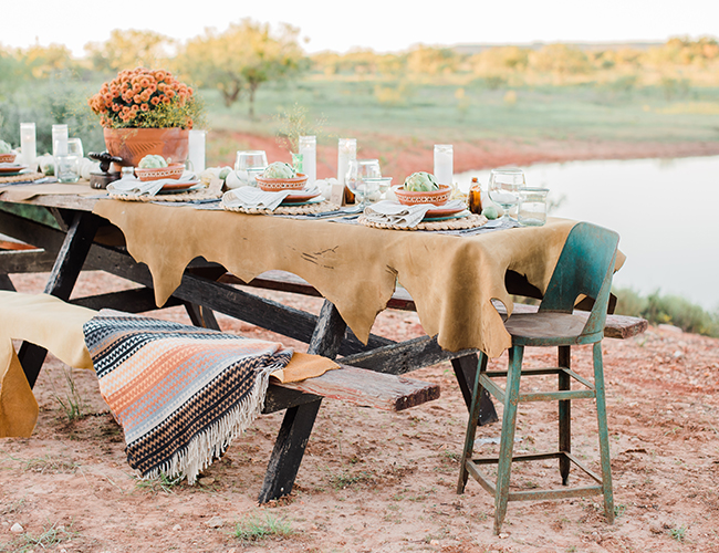 Fall Dinner Party on The Pasture