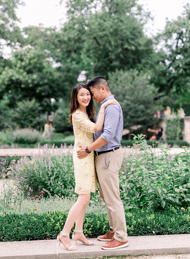 Sushi Picnic Engagement Session
