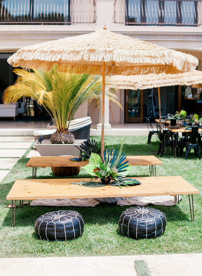 Cool Tropical Oasis Baby Shower