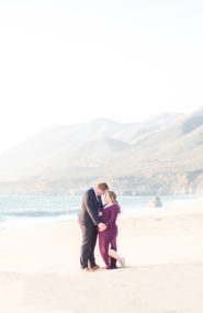 Big Sur Beach Maternity Photos