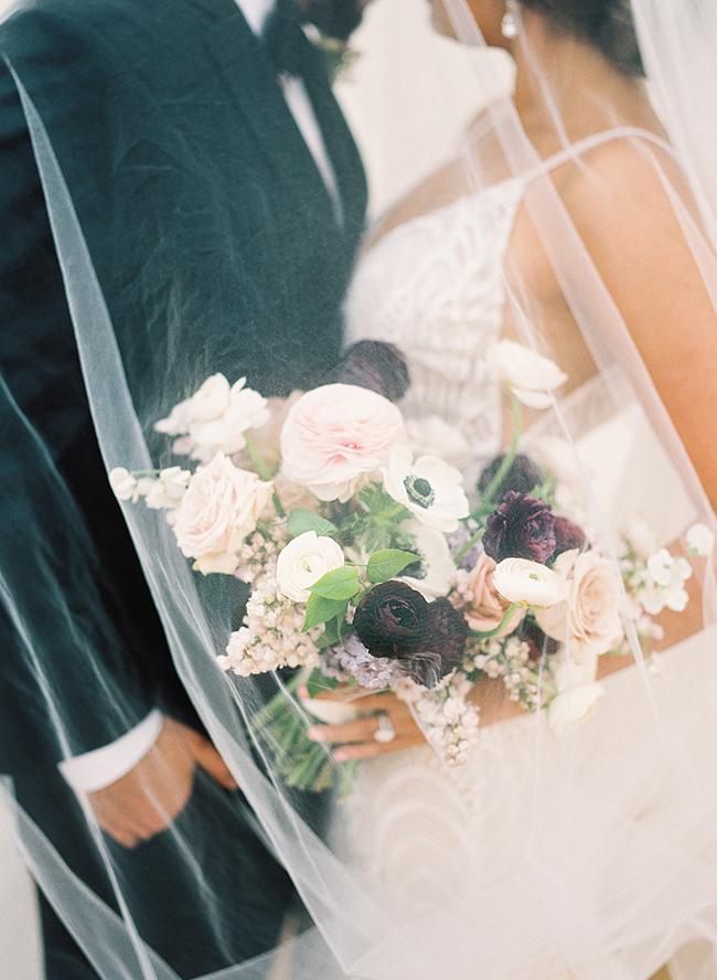 Mauve Modern Romance Wedding Inspiration