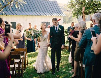Autumn Wedding on a Virginia Farm
