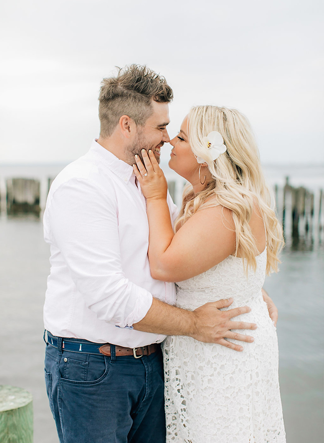 Nautical Engagement on The Water