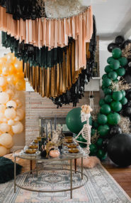 Boho Halloween Party Inspired by Friends