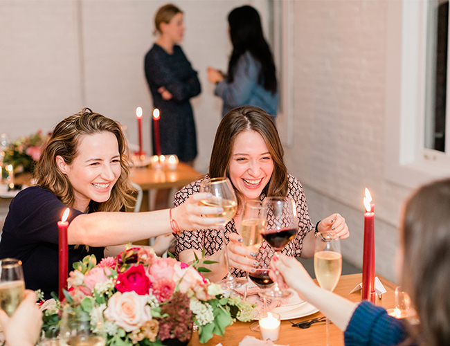 Gorgeous Dinner Party During Bridal Market