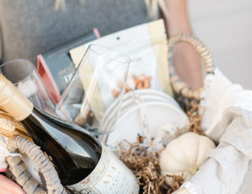 Homemade Hostess Gift Baskets for The Wine Lover