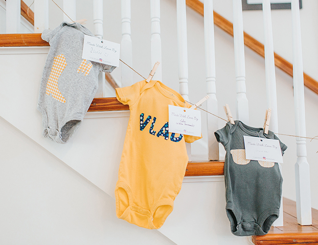 A French New Orleans Inspired Baby Shower