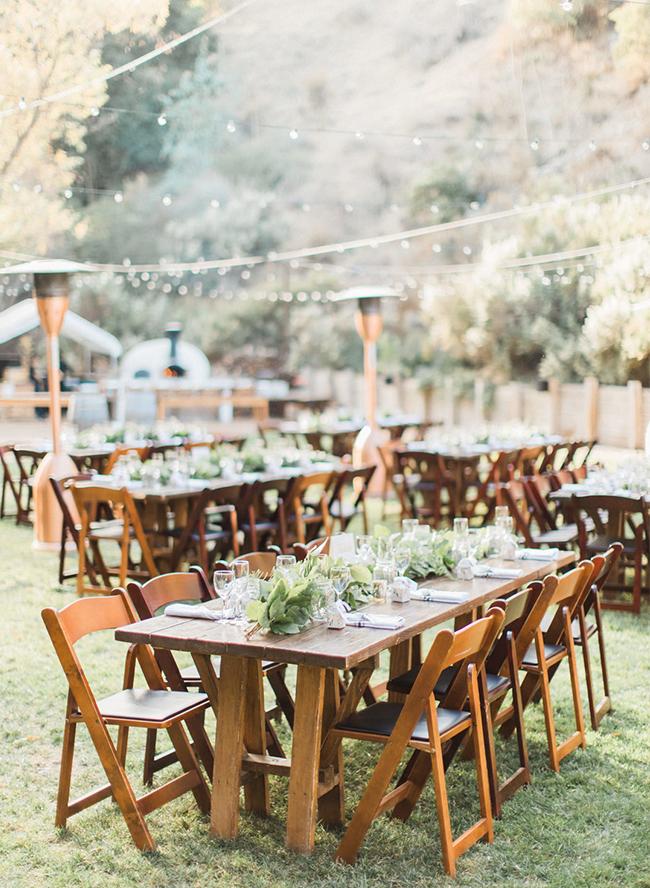 Rustic Burgundy Mountainside Wedding