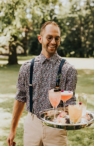 A Bridal Shower Cocktail Party