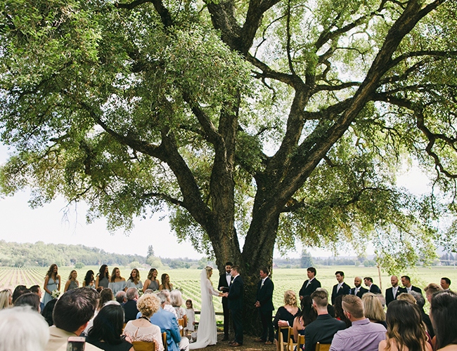 Natural Wedding Full of Greenery