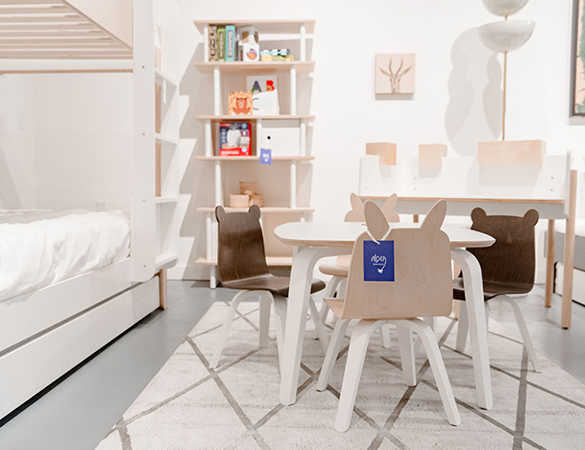 Aldea Home & Baby's New L.A. Shop