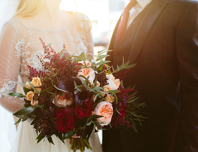 Gold Chicago Wedding at The Rookery