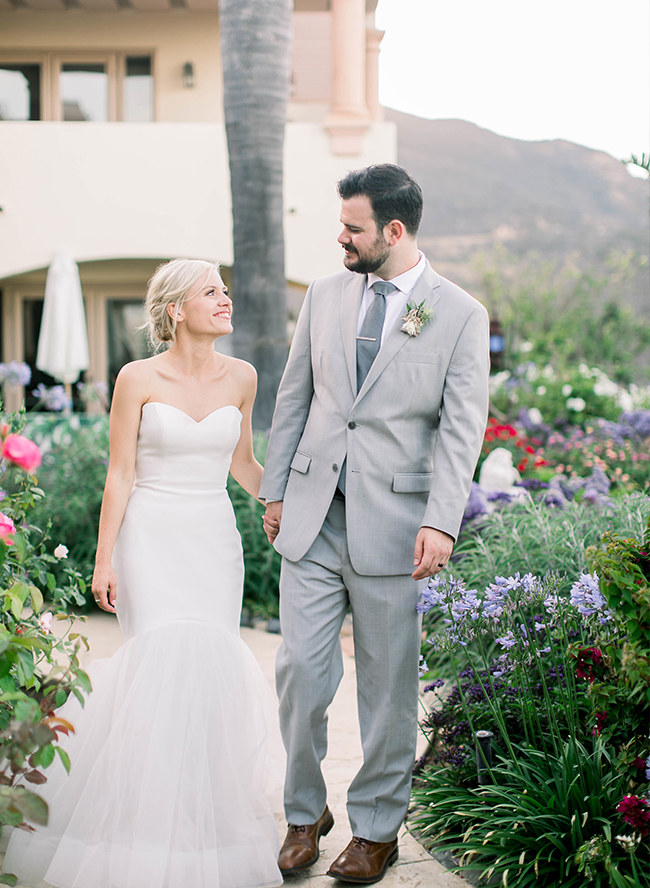 Modern Boho Tropical Wedding in Malibu