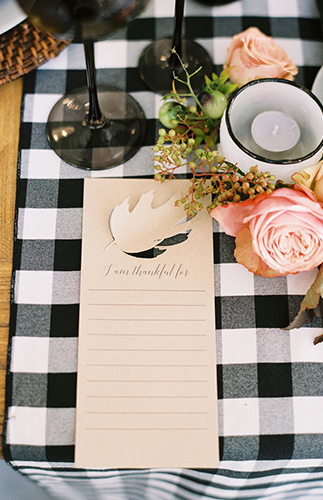 Chic Contemporary Thanksgiving