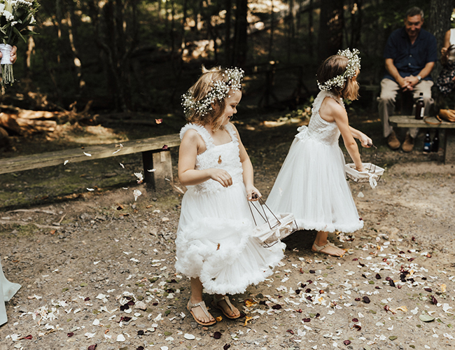 Natural Campground Wedding