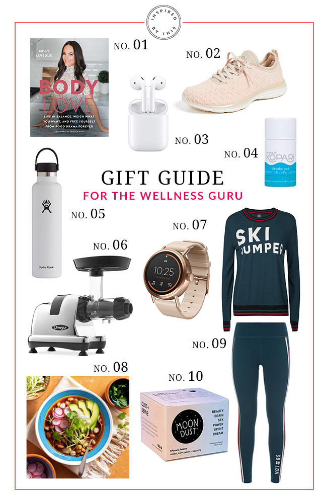 Gift Guide for The Wellness Guru