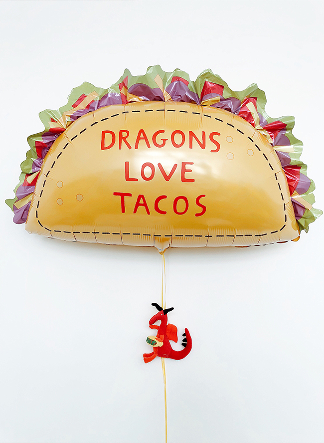Dragons Love Tacos Themed Birthday Party