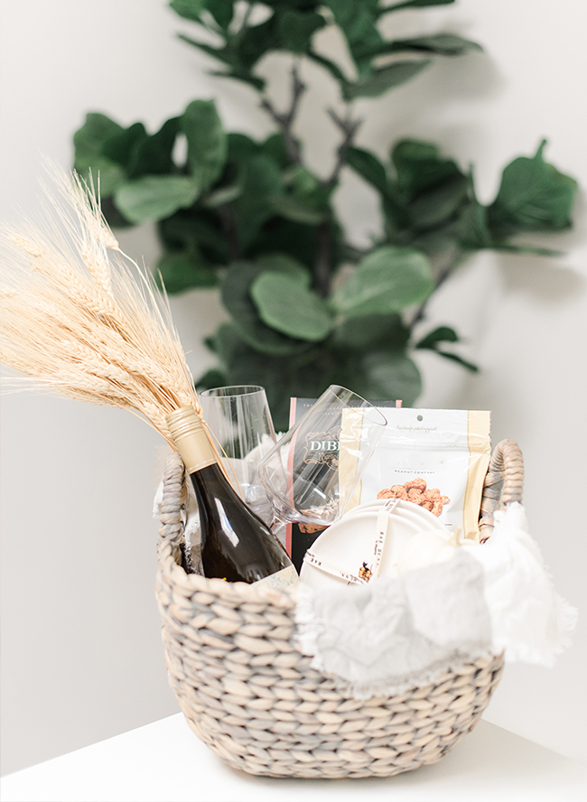 Homemade Hostess Gift Baskets for The Wine Lover - Inspired by This