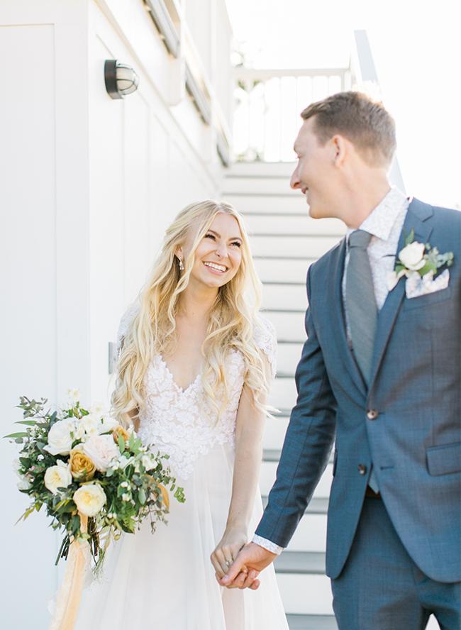 Blue California Wedding