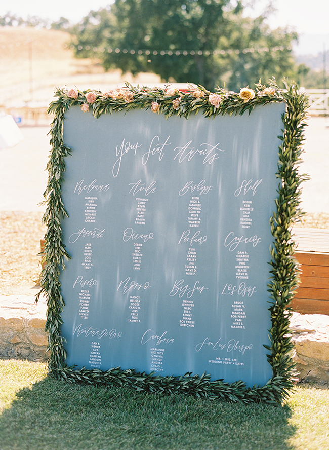 best weddings 2018, Blue California Wedding