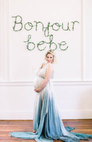 French Inspired Maternity Photos