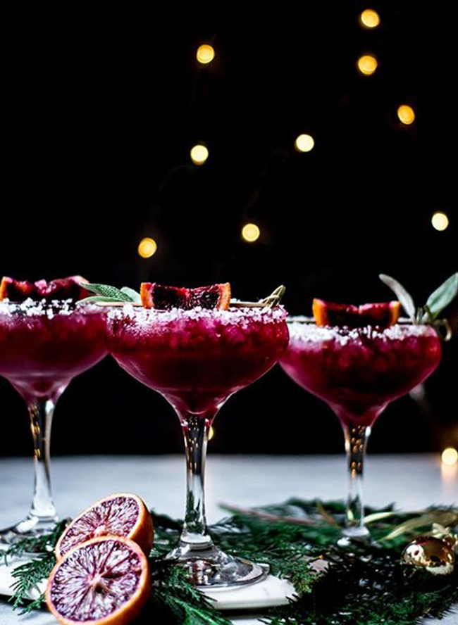 Pretty Cocktail Recipes for the Holidays