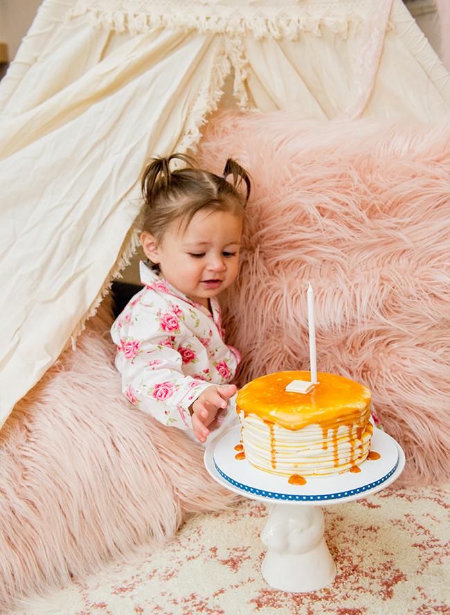 Breakfast in Bed Kids Birthday Party