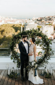 Rooftop wedding, wedding in portugal, weddings in portugal