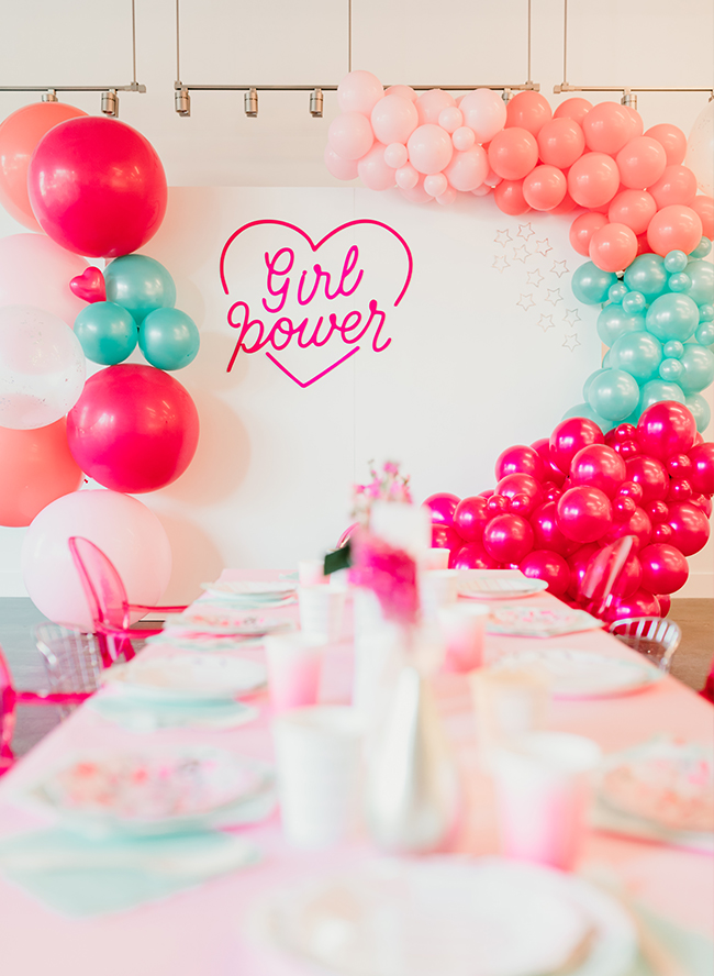 Girl Power Birthday Party