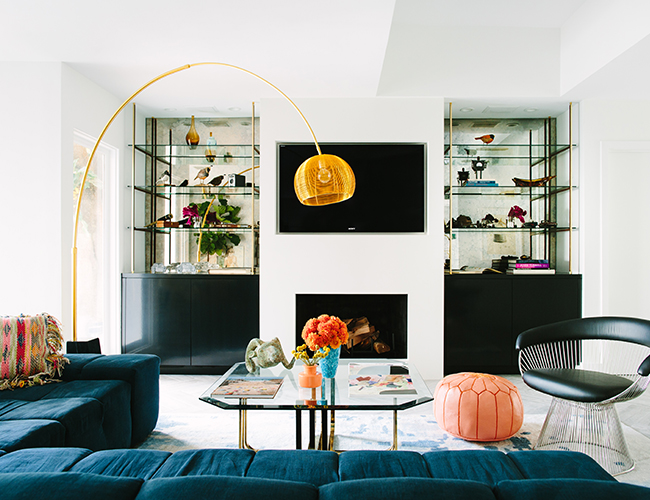 Eclectic Home, black lacquer design