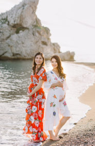 Best Friend Maternity Photos