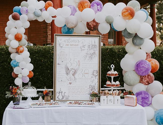 Princess Tea Party Kids Birthday Ideas 2nd For Girl