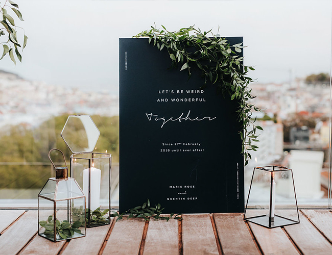 Wedding Signage, wedding sign ideas