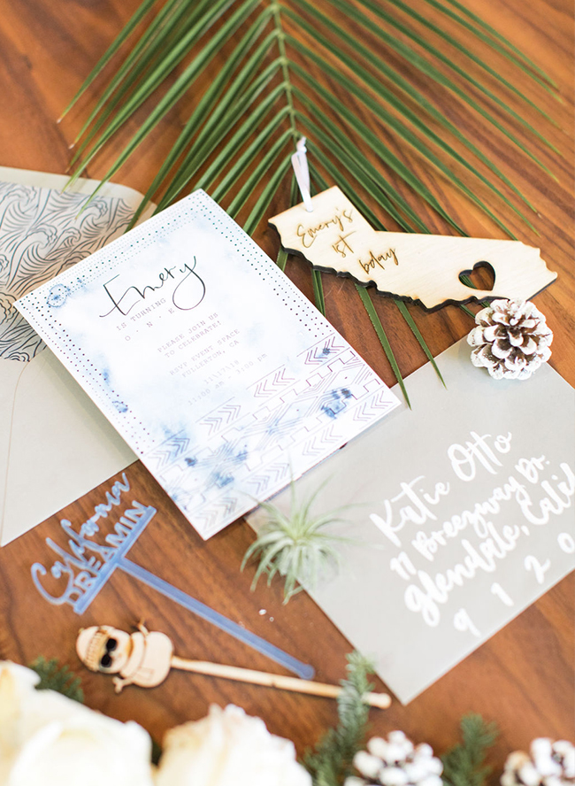 Winter Birthday Party, winter themed first birthday party