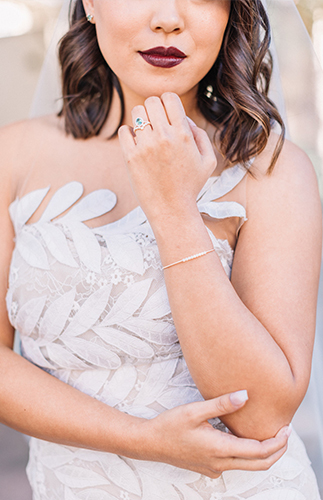 Jewel Tone Wedding, jewel tone wedding colors, oscar de la renta wedding dress