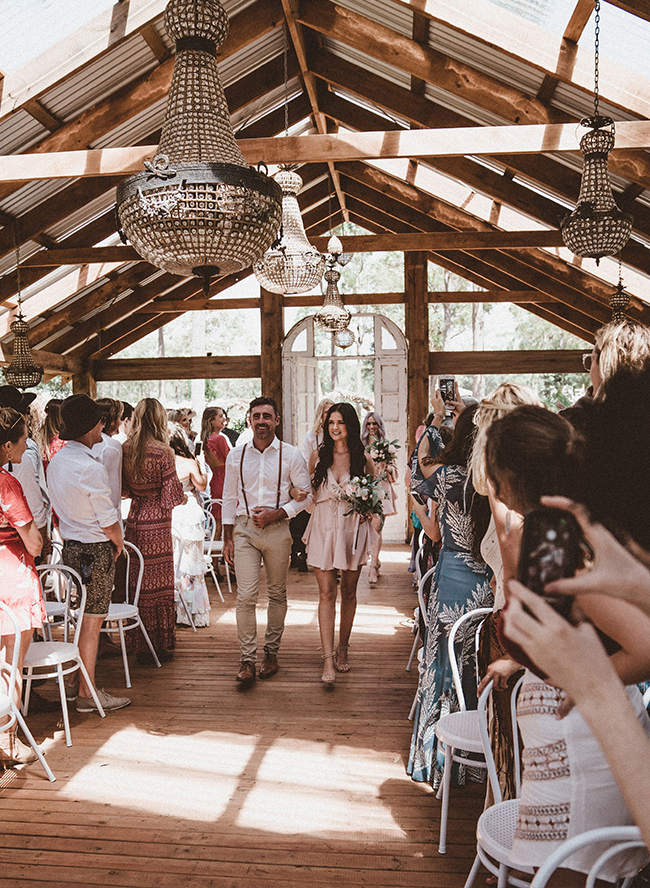 Australian wedding, neutral wedding