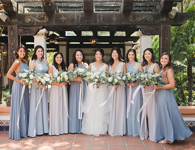 1000 Paper Cranes wedding, rancho las lomas