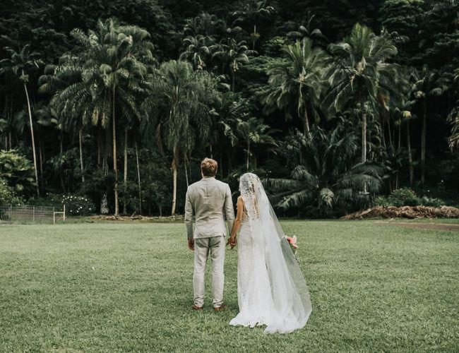 Used Cars Oahu >> Waimea Valley Wedding on the North Shore of Oahu ...