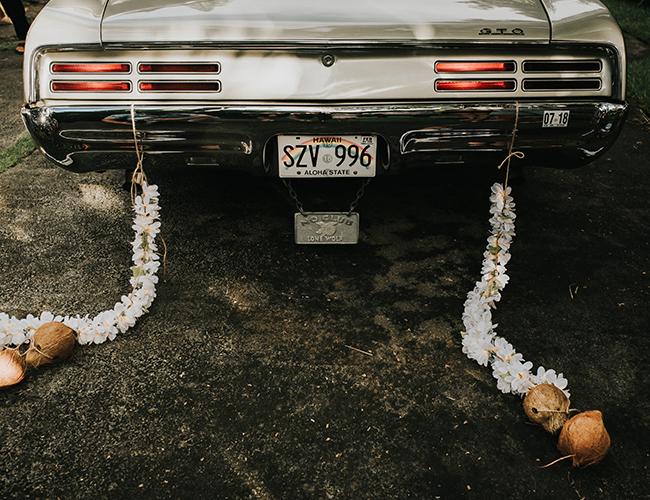 Boho Waimea Valley wedding - Inspired by This