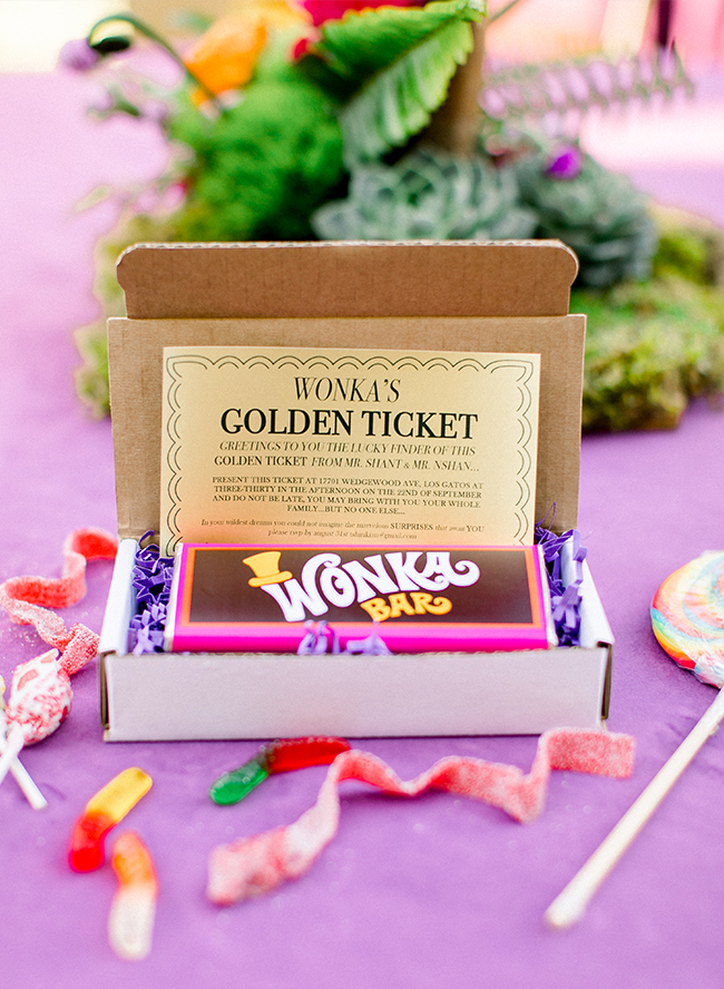 A Willy Wonka Birthday Party For Twin Boys