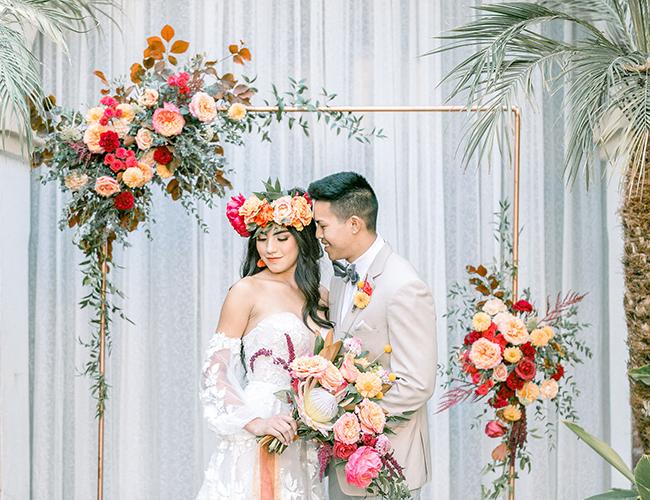 Spanish Wedding Inspiration at Villa del Sol