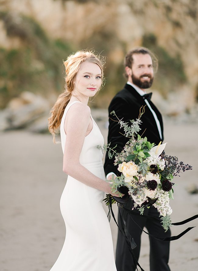 Black Tie Beach Wedding - Inspired by This