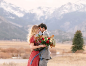 Rocky Mountain National Park Engagement Photos