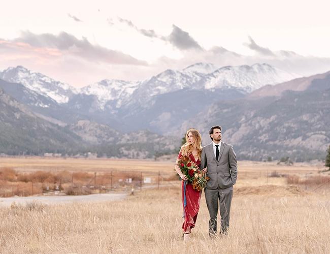 Rocky Mountain National Park Engagement Photos