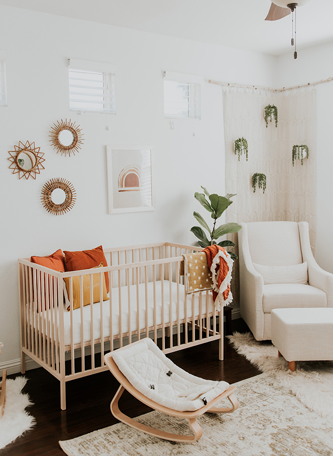 Modern Neutral Nursery Full Of Plants Inspired By This