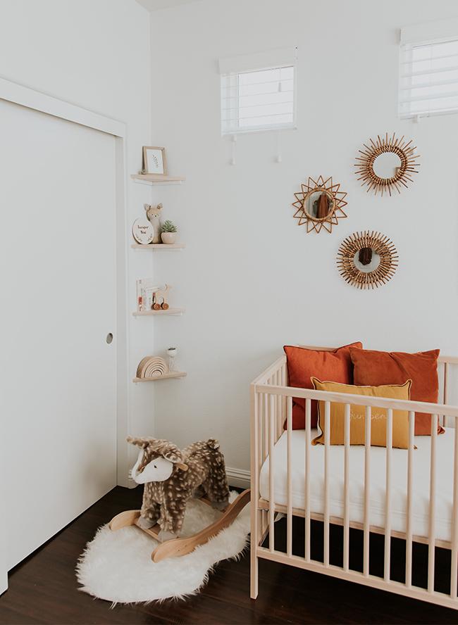 modern neutral nursery