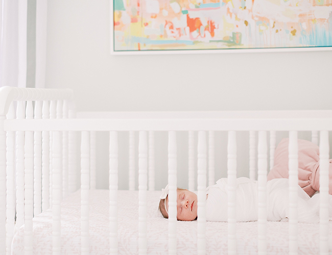 White Nursery, Baby Girl Nursery