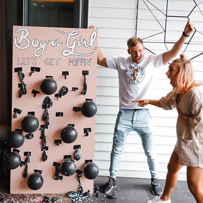 Gender Reveal Ideas, unique gender reveal ideas