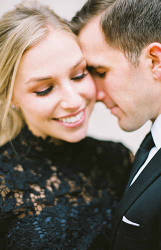 Classic Engagement Photos, romantic engagement photos