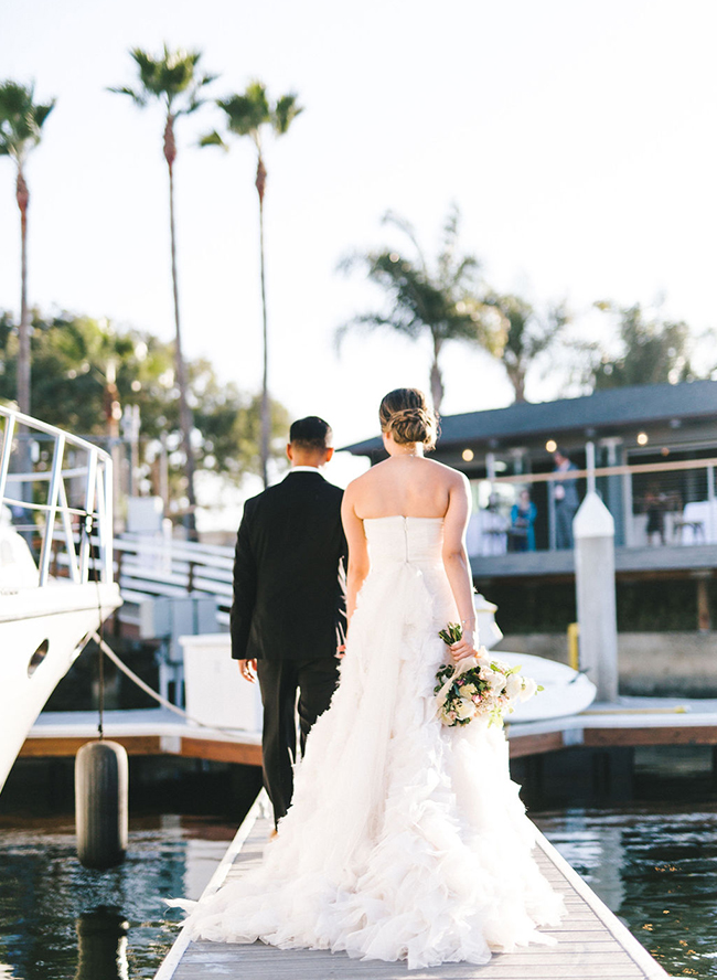 Glam Waterfront Wedding at Huntington Bay Club